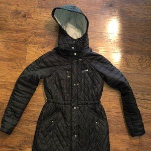 Vince Camuto 3/4 length pleated waist jacket